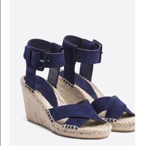 New Vince wedge espadrilles sandals shoes